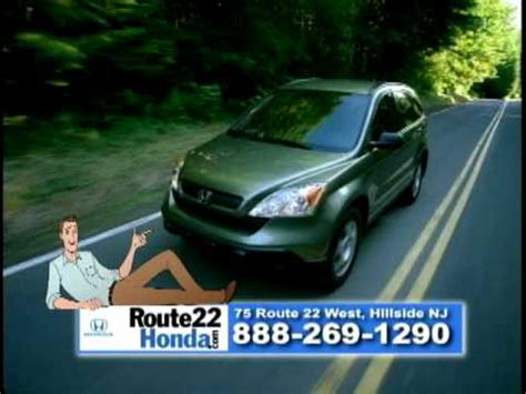 rt  honda tv commercial opportunity knocking nj