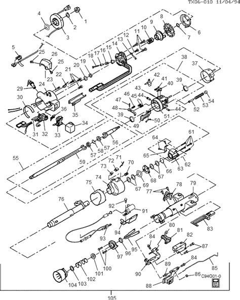 Chevy Truck Steering Column Diagram Wiring