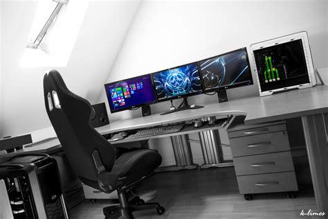 meilleur siege de bureau grand bureau gamer le des geeks et des gamers