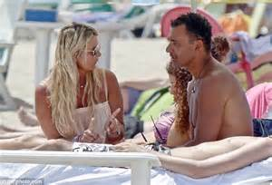 Ruud Gullit spends quality time with Joelle, 16, as he ...