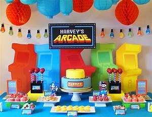 "Arcade Games / Birthday ""Arcade Themed 6th Birthday Party ..."