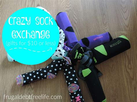 sock gift exchange sock exchange 10 gift idea frugal debt free limitless on a limited budget