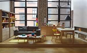 Table Salon Alinea : decoration salon ambiance actuelle alinea ~ Teatrodelosmanantiales.com Idées de Décoration