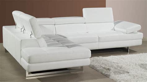 modern leather corner sofa adjustable headrests
