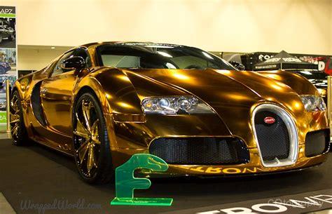 bugatti veyron gold wrapped   rapper flo rida