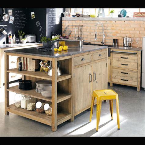 incroyable ilot central cuisine alinea 1 meubles de