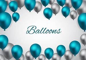 Free Blue Ballo... Balloons