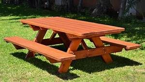 Benches outdoors, outdoor wooden picnic tables wooden