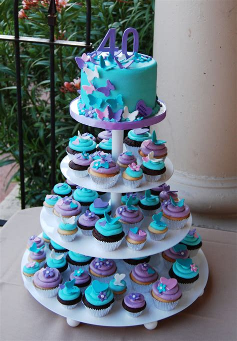 baby boy shower themes decorations 40th birthday purple turquoise and pink butterfly and hear