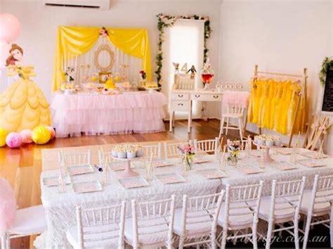 karas party ideas princess belle inspired beauty