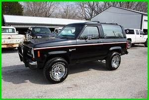 Classic 1988 Ford Bronco Ii V6 5 Speed For Sale  Detailed