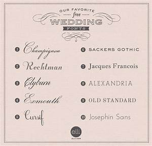 elegant wedding invitation fonts free matik for With font for wedding invitation labels