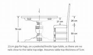Dining Table Chair Measurements by What Is The Ideal Dining Table And Chair Height