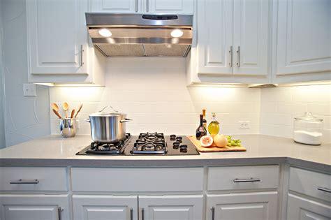 kitchen subway backsplash white kitchen with subway tile backsplash awesome