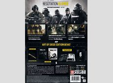 Tom Clancy's Rainbow Six Siege Art of Siege Edition
