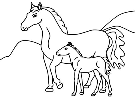 horses to color 39 free printable coloring pages of horses printable