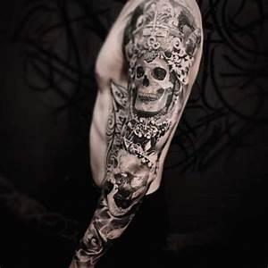 Tatouage Demi Bras Homme : tatouage tete de mort avant bras homme 3dliveproject ~ Melissatoandfro.com Idées de Décoration
