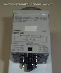 Gambar Dan Konfigurasi Pin Timer Omron H3cr