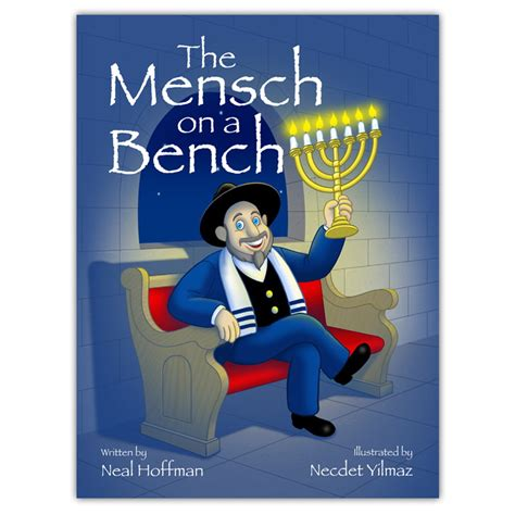 mench on the bench mensch on a bench plush and book as seen on shark tank