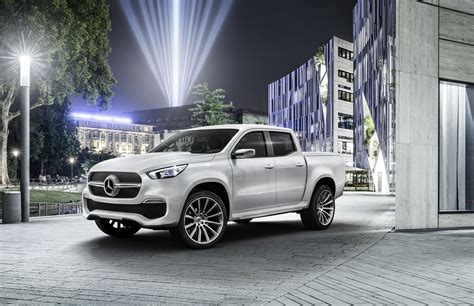 luxury mercedes mercedes benz unveils its first pick up truck