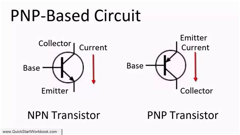 How To Switch Between An Npn And Pnp Transistor In A