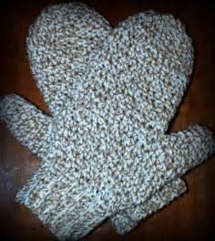 Easy Crochet Mitten Pattern