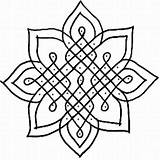 Coloring Pages Pattern Quilt Adult Mandala sketch template