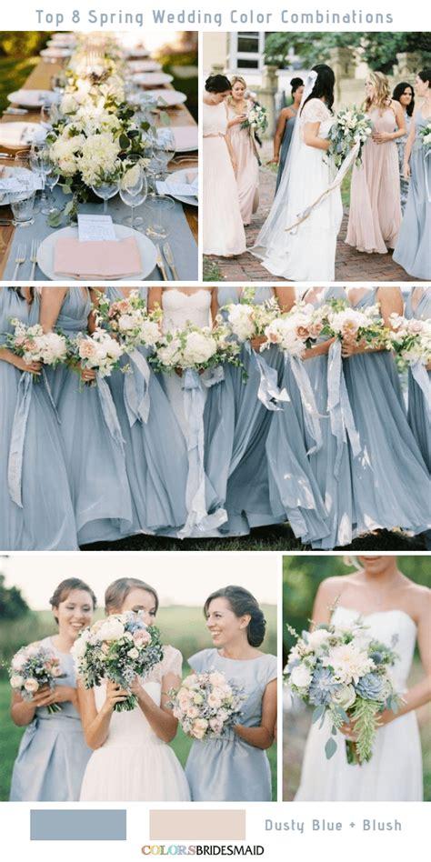 All 40+ Spring Wedding Color Palettes Spring wedding