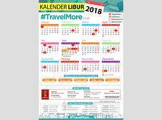 Kalender Libur 2018 #TravelMore