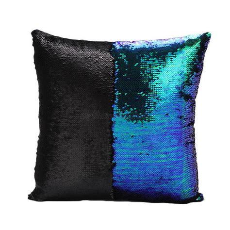 reversible sequin mermaid pillow reversible mermaid sequin pillow cover glitter sofa 4840