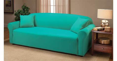 Madison Industries Solid Jersey Sofa Cover | www | Sofa ...