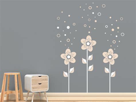 Wandtattoo Kinderzimmer Blumen by Wandtattoo Blumen Mit Seifenblasen Wandtattoo De