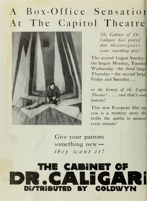 cabinet dr caligari plot summary 41 best images about cabinet of dr caligari on