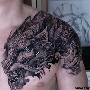 Drachen Tattoo Oberarm : dragon tatoo tattoo m nner pinterest t towierungen tattoo ideen und drachen tattoo ~ Frokenaadalensverden.com Haus und Dekorationen