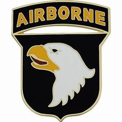 Airborne 101st Division Badge Combat Service Army
