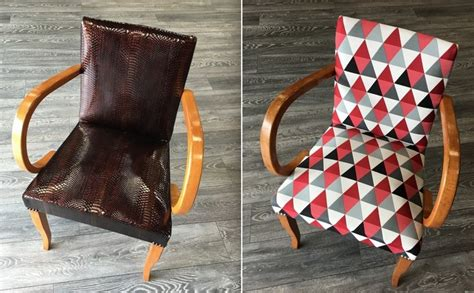 tissu d ameublement pour canapé restaurer un fauteuil je fais moi même