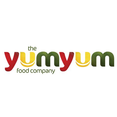 logo design the yum yum food company aubergine 262