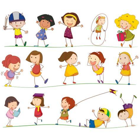 bambini clipart collection vector free