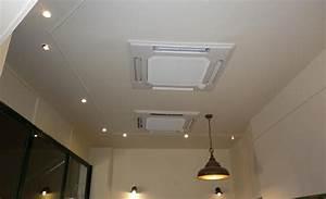 Climatisation Encastrable Plafond : vente et installation de climatisation chauffage cannes ~ Premium-room.com Idées de Décoration