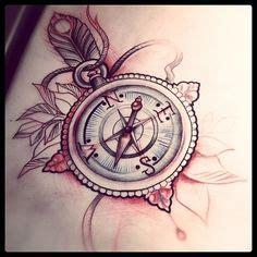 les  meilleures images du tableau tatouage boussole