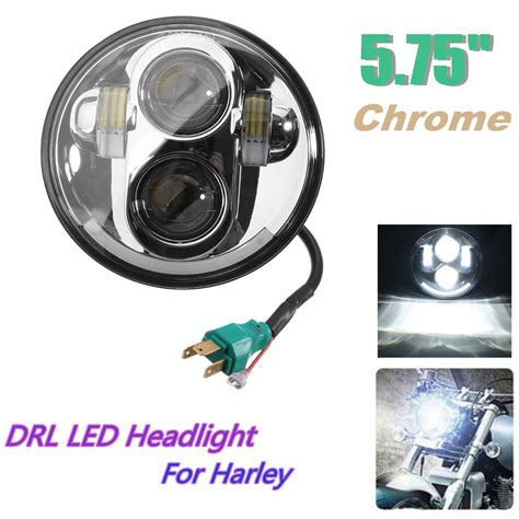 5 7inch motorcycle projector drl led light bulb hi lo beam