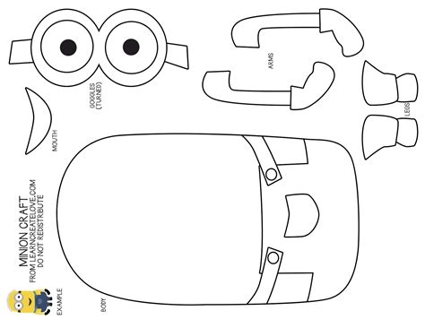 Minion Coloring Pages Free Large Images