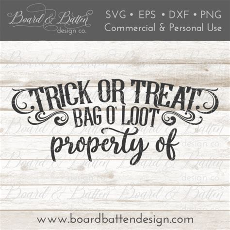 Remember, we include assembly videos for all of our free svg files, you'll find them on the product page just below the main product image. Personalizable Trick or Treat Halloween Loot Bag SVG ...