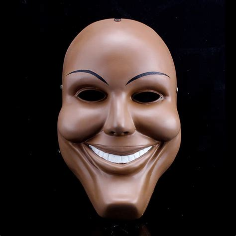Purge Masks Halloween by Men Resin Scary Smile Face Halloween Mask The Purge