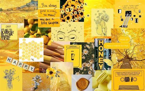 aesthetic laptop yellow wallpapers