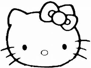 Coloring Pages of Hello Kitty | kids world