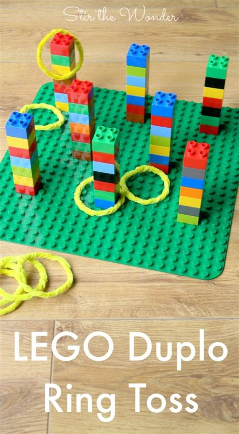lego duplo ring toss stir the 688 | LEGO Duplo Ring Toss PIN 565x1024