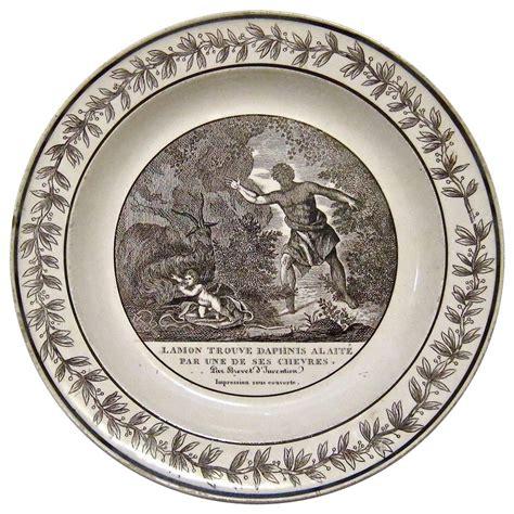 choisy le roi antique creamware daphnis and cabinet