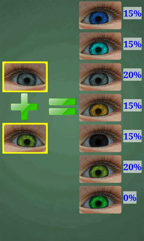 baby eye color predictor predictor of baby eye color android apps on play