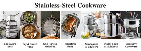 stainless steel cookware sets pots  pans williams sonoma